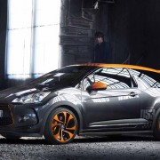 Citroën DS3 Racing Noir Obsidien et Orange