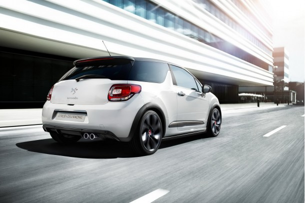 Citroën DS3 Racing Blanc Banquise et Gris Moondust