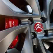 Jante Nemesis de Citroën DS3 Racing Blanc Banquise et Gris Moondust