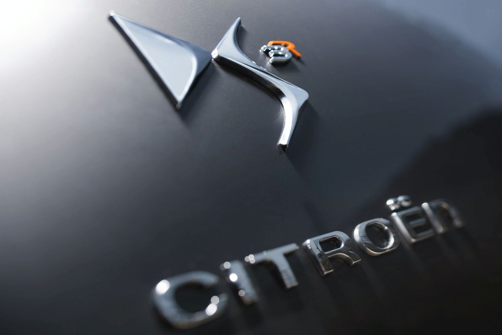 logo de citro n ds3 racing noir obsidien et orange distinctive series. Black Bedroom Furniture Sets. Home Design Ideas