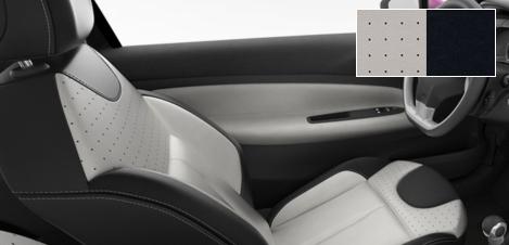 Intérieur Citroën DS3 Cuir perforé Mistral - Lama