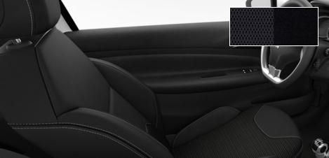 Intérieur Citroën DS3 tissu Grand Rayados Mistral