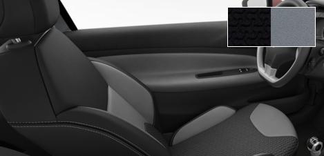 Intérieur Citroën DS3 tissu Sturm Mistral