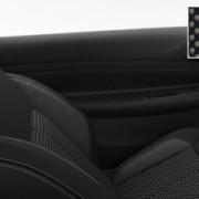 Intérieur Akinen Mistral et velours sur Citroën DS3 Just Black