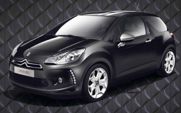 Citroën DS3 Black