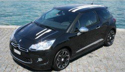 Citroën DS3 Black and Silver