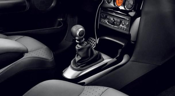 Pommeau de levier de vitesses de Citroën DS3 Matière Grise