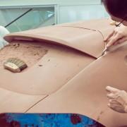 Modelage de Citroën DS4 Racing Concept