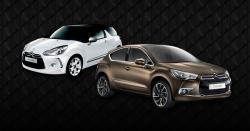 Citroën DS3 et DS4 dans le top des ventes de janvier 2012