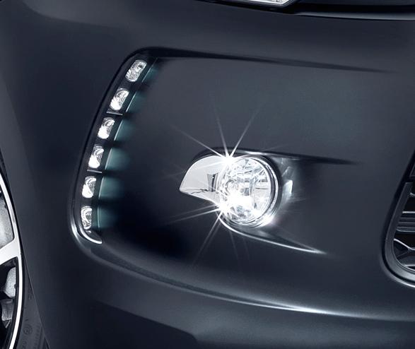 Antibrouillard de Citroën DS3 Just Black