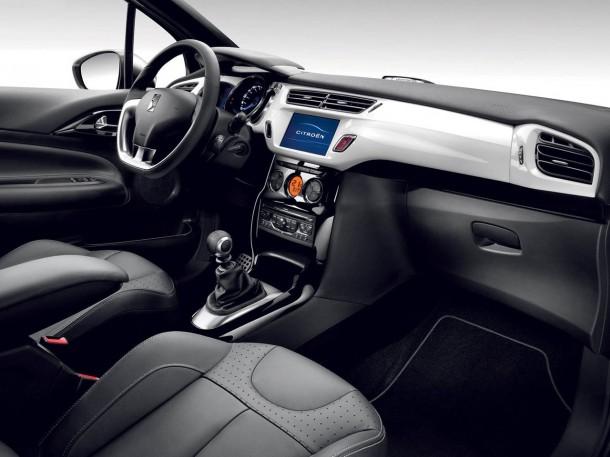 Intérieur de Citroën DS3 Matière Grise