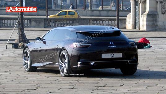 Citroën Numéro 9 : future DS9 ?