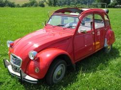 Citroën 2CV Découvrable