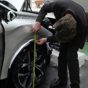 Citroën DS5 White Pearl : ajustement des ailes