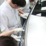 Citroën DS5 White Pearl : dernières finitions