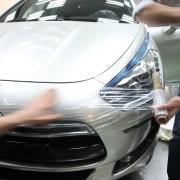 Citroën DS5 White Pearl : emballage pour le voyage